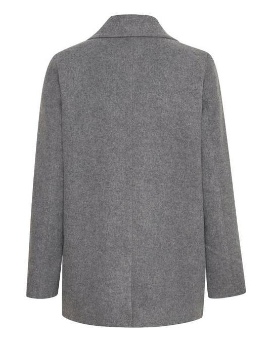 Soaked in Luxury Trinny Jacket Medium Grey Melange