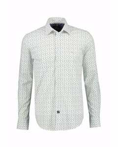 Poplin Overhemd Met Stretch