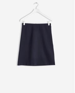 Clean Jersey Skirt Navy