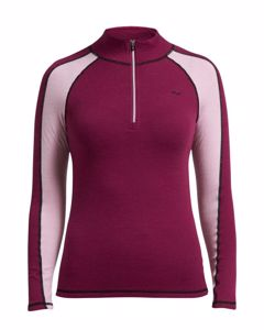 Warm Base Half Zip Ruby