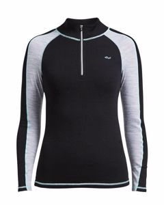 Warm Base Half Zip Black