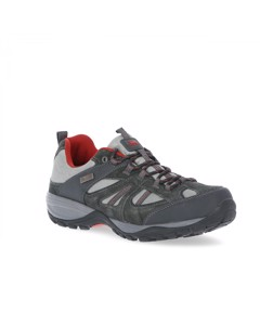 Trespass Mens Benjamin Waterproof Lace Up Trainers