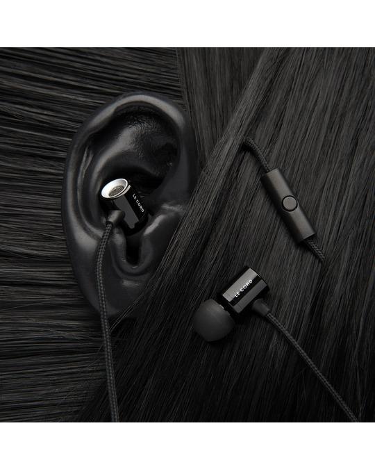 Le cord Black Earphones