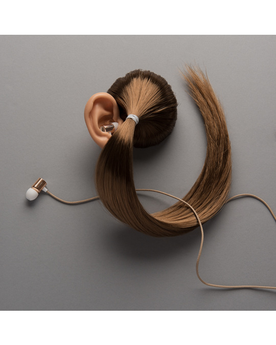 Le cord Gold Earphones