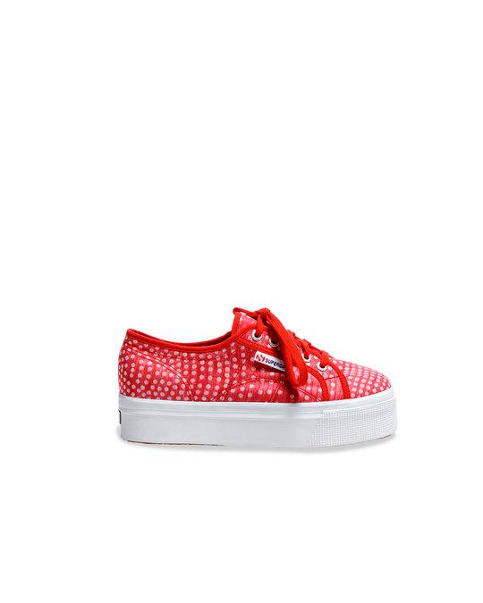 Superga Superga Sneaker 2790 Organzadevoredots Red
