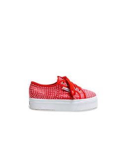 Superga Sneaker 2790 Organzadevoredots Red