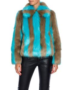 Stand Jacket Giovanna Fur Lolly, Grey