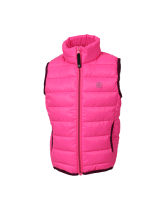Karl Padded Waistcoat Candy Pink