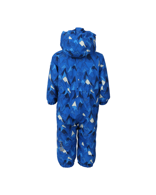 Color Kids Rimah Mini Padded Coverall Aop Blue Sea