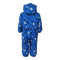 Rimah Mini Padded Coverall Aop Blue Sea