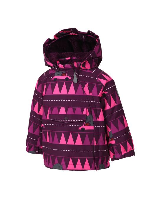 Color Kids Raidoni Mini Padded Jacket Aop Pickled Beet