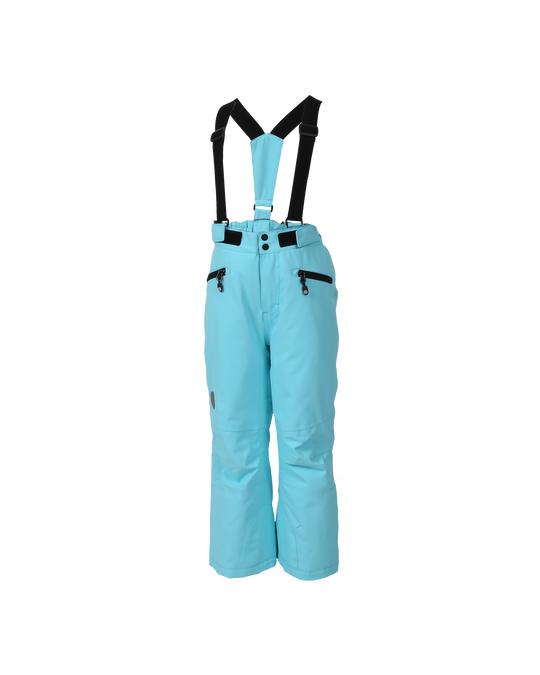 Color Kids Sanglo Padded Ski Pants Blue Fish