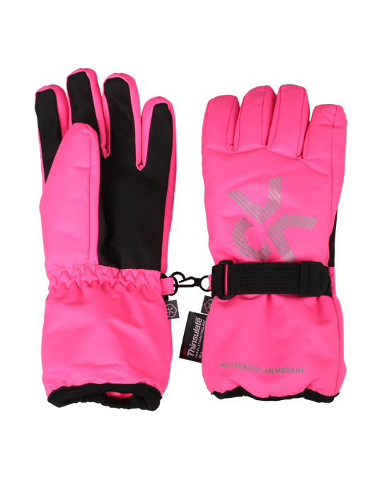 Color Kids Savoy Gloves Candy Pink