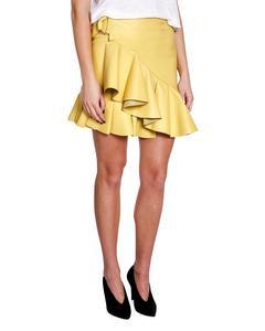 Stand Skirt Aniko Lamb Moss Pale Yellow