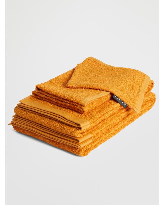 Linum East Wash Mitten 14x22 Cm D-07 Golden Orange