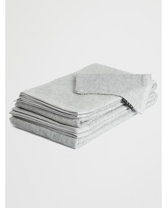 Linum East Wash Mitten 14x22 Cm G-15 Light Grey