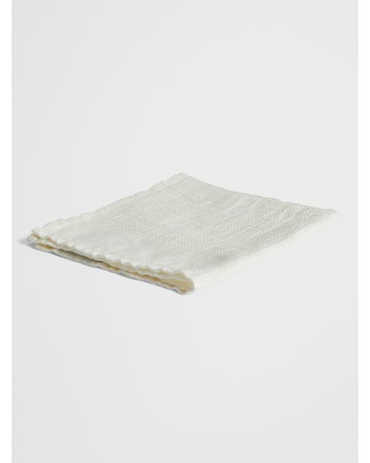 Linum Kite Towel 40x40 Cm I-01 White