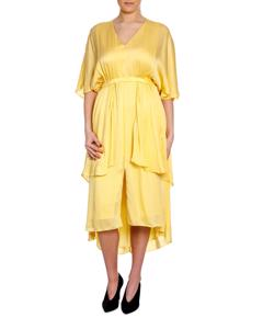 Dagmar Mallorita Dress Light Yellow