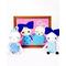 Baby Chipper - White/blue