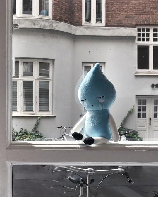 LUCKYBOYSUNDAY Baby Waterboy - Blue