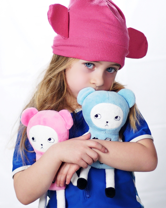LUCKYBOYSUNDAY Baby Teddygirl - Pink