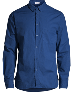 M. Peter Washed Poplin Shirt Aquatic