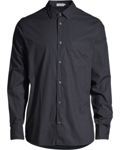 M. Tim Washed Poplin Shirt Dark Navy