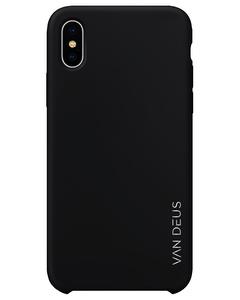 Liquid Silicone Case Black - Iphone Xs Max