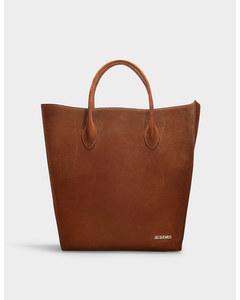 Le Baya Bag In Brown Nubuck Brown Nubuck