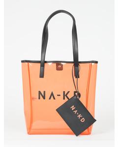 Transparent Na-kd Bag Light Orange