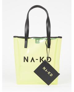 Transparent Na-kd Bag Light Yellow