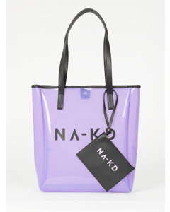 Transparent Na-kd Bag Light Purple