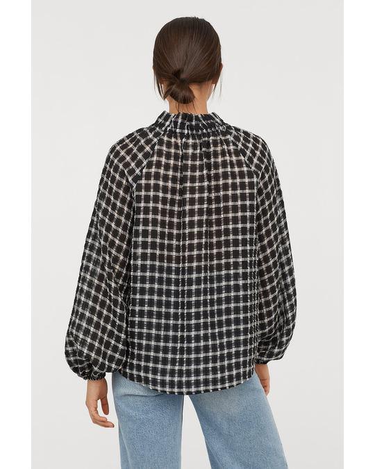 H&M Lumen Blouse Black
