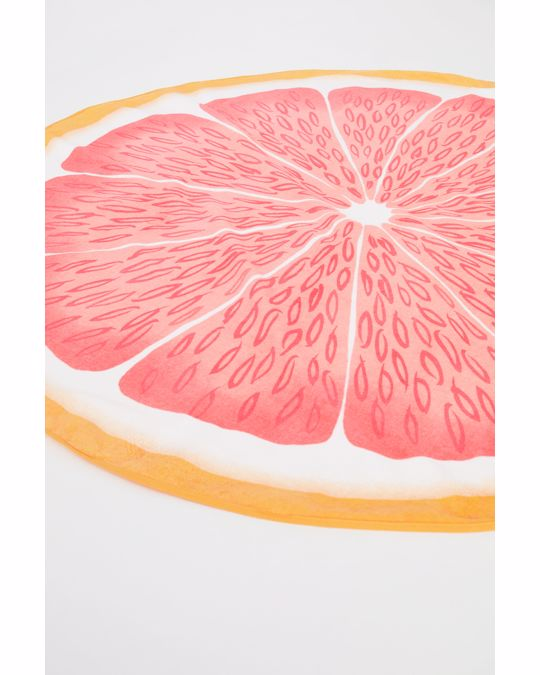 H&M HOME Grape Round Beachtowel 70x140 Cm Orange