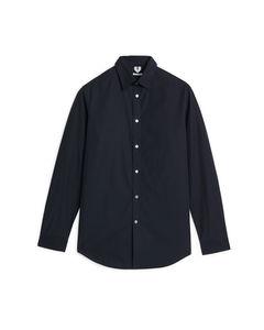 Poplin Shirt Navy