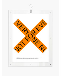 Artby X Statement Everyone - 81x61