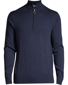 M. Halfzip Sweater Naval