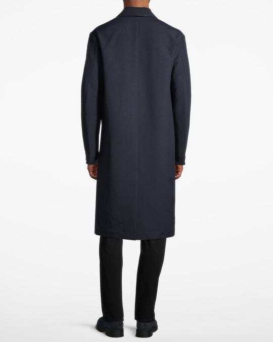Filippa K M. Luke Cotton Coat Dk. Navy
