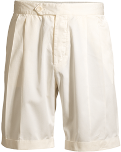 M. Giles Cotton Shorts Panacotta