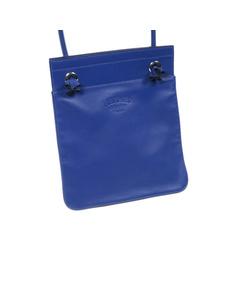 Hermes Arena Leather Crossbody Bag Blue