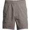 Short cotton twill shorts Grey