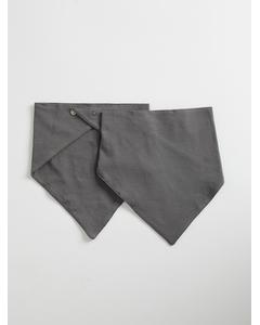 Triangle Scarf 2-pack Grey (mole)
