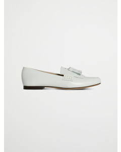 Leslie Loafer White Polished