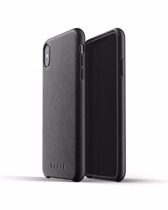 Full Leather Case For Iphone Xs Max - Black  Black