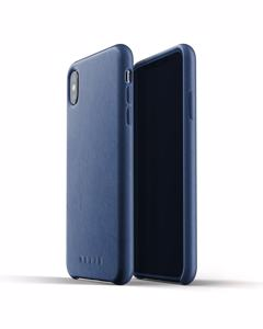 Full Leather Case For Iphone Xs Max - Monaco Blue