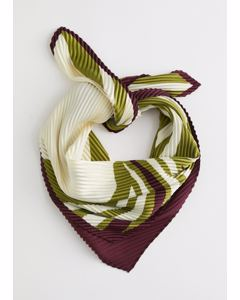 S Cricri Scarf Red