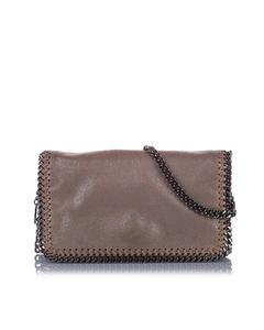 Stella Mccartney Falabella Crossbody Bag Brown