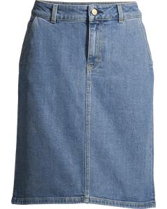 Alicia Denim Skirt Mid Blue