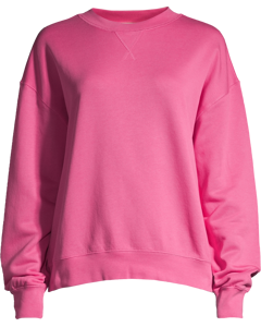 Crew Neck Sweatshirt Carnation