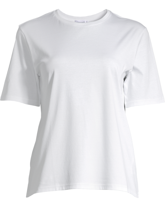 Filippa K Mercerized Cotton Dressed Tee White